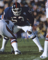 Harry Carson Signed Giants 8x10 Photo (Beckett COA) at PristineAuction.com