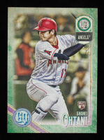 Shohei Ohtani 2018 Topps Gypsy Queen GQ Green Variation #89 at PristineAuction.com