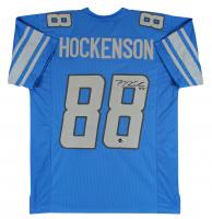 T. J. Hockenson Signed Jersey (Beckett Hologram) at PristineAuction.com
