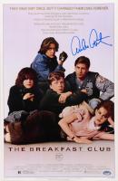 "Emilio Estevez Signed ""The Breakfast Club"" 11x17 Movie Poster Print (Schwartz Sports COA) at PristineAuction.com"