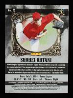 Shohei Ohtani 2018 Diamond Kings Black and White Variations Gray Frame #73 #57/99 at PristineAuction.com