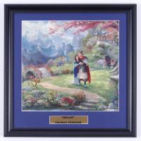 "Thomas Kinkade ""Mulan"" 16x16 Custom Framed Print Display at PristineAuction.com"