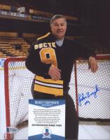 John Bucyk Signed Bruins 8x10 Photo (Beckett COA) at PristineAuction.com