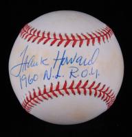 """Frank Howard Signed ONL Baseball Inscribed """"1960 N.L  R.O.Y"""" (JSA COA) at PristineAuction.com"""