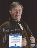 """Jim Broadbent Signed """"Harry Potter"""" 8x10 Photo Inscribed """"Best Wishes"""" (Beckett COA) at PristineAuction.com"""