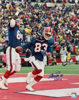 """Andre Reed Signed Bills 16x20 Photo Inscribed """"HOF 14"""" (Schwartz Sports COA) at PristineAuction.com"""