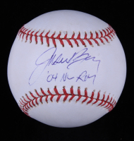 "Jason Bay Signed OML Baseball Inscribed ""'04 NL ROY"" (JSA COA) at PristineAuction.com"