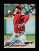 Shohei Ohtani 2018 Topps Update #US1 RC at PristineAuction.com