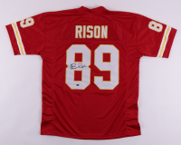 """Andre Rison Signed Jersey Inscribed """"Spiderman"""" (Schwartz Sports COA) at PristineAuction.com"""