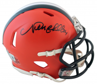 Nick Chubb Signed Browns Speed Mini-Helmet (Beckett Hologram) at PristineAuction.com