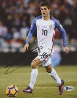Christian Pulisic Signed Team USA 8x10 Photo (Beckett COA) at PristineAuction.com