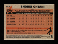 Shohei Ohtani 2018 Topps Chrome '83 Topps Refractors #83T6 RC at PristineAuction.com