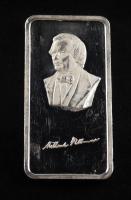 """1 Oz .999 Fine Silver """"Millard Fillmore"""" Hamilton Mint Silver Bullion Bar at PristineAuction.com"""