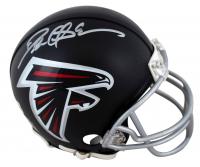 Deion Sanders Signed Falcons Mini-Helmet (Beckett Hologram) at PristineAuction.com