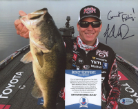 """Kevin VanDam Signed 8x10 Photo Inscribed """"Great Fishing!"""" (Beckett COA) at PristineAuction.com"""