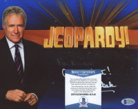 """Alex Trebek Signed """"Jeopardy"""" 8x10 Photo Inscribed """"All the Best!"""" (Beckett COA) at PristineAuction.com"""