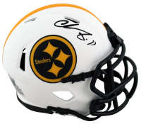 Chase Claypool Signed Steelers Lunar Eclipse Alternate Speed Mini-Helmet (Beckett Hologram) at PristineAuction.com