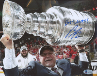 """Barry Trotz Signed Capitals 8x10 Photo Inscribed """"Best Wishes!"""" (Beckett COA) at PristineAuction.com"""