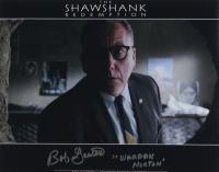 "Bob Gunton Signed ""The Shawshank Redemption"" 11x14 Photo Inscribed ""Warden Norton"" (AutographCOA COA) at PristineAuction.com"