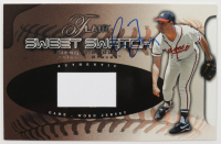 Greg Maddux Signed 2002 Flair Sweet Swatch (Beckett COA) at PristineAuction.com