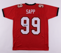 Warren Sapp Signed Jersey (Schwartz COA) at PristineAuction.com