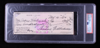 Ted Williams Signed 1982 Personal Bank Check (PSA Encapsulated) at PristineAuction.com