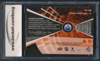 Connor McDavid 2015-16 Upper Deck Full Force Goooal Autographs #GCM (BCCG 10) at PristineAuction.com