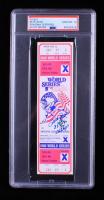 Pete Rose Signed 1980 World Series Original Game Ticket (PSA Encapsulated) at PristineAuction.com