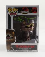 "John Rosengarnt Signed ""Jurassic Park"" Velociraptor #549 25th Anniversary Funko Pop! Vinyl Figure (Beckett COA) at PristineAuction.com"