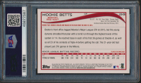 Mookie Betts 2014 Topps Update #US26B SP / In dugout (PSA 10) at PristineAuction.com