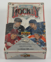 1991-92 Upper Deck Hockey Low Series Factory Sealed Box with (36) Packs at PristineAuction.com