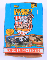 1991 Topps Desert Storm Trading Cards & Stickers Box With (36) Packs (See Description) at PristineAuction.com