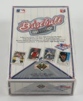 1991 Upper Deck Baseball Low # Series Factory Sealed Wax Box with (36) Packs at PristineAuction.com