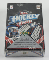 1990-91 Upper Deck Hockey High Series Factory Sealed Box with (36) Packs at PristineAuction.com