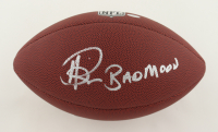 """Andre Rison Signed NFL Football Inscribed """"Bad Moon"""" (Schwartz Sports COA) at PristineAuction.com"""