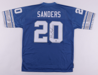 Barry Sanders Signed Lions Jersey (Schwartz Sports COA) at PristineAuction.com
