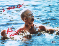 """Ari Lehman Signed """"Friday the 13th"""" 8x10 Photo Inscribed """"I Never Die!"""" & """"Jason 1"""" (Beckett COA) at PristineAuction.com"""
