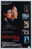 "Ralph Macchio Signed ""The Karate Kid Part II"" 12x18 Photo (AutographCOA COA) at PristineAuction.com"