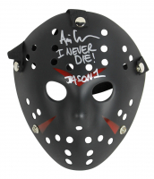 "Ari Lehman Signed Jason ""Friday the 13th"" Hockey Mask Inscribed ""Jason 1"" & ""I Never Die!"" (Beckett Hologram) at PristineAuction.com"