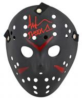 "Ari Lehman Signed Jason ""Friday the 13th"" Hockey Mask Inscribed ""Jason 1"" (Beckett Hologram) at PristineAuction.com"