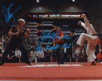 "Ralph Macchio & William Zabka Signed ""The Karate Kid"" 16x20 Photo Inscribed "" The Karate Kid"" (AutographCOA COA) at PristineAuction.com"