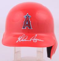 Nolan Ryan Signed Angels Mini Batting Helmet (PSA COA) at PristineAuction.com