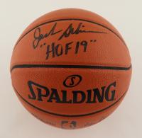 "Jack Sikma Signed NBA Game Ball Series Basketball Inscribed ""HOF 19"" (Schwartz COA) at PristineAuction.com"