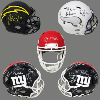 Schwartz Sports Full-Size Specialty Football Helmet Signed Mystery Box – Series 10 (Limited to 150) (ALL HELMETS ARE FULL-SIZE SPECIALTY!!!) at PristineAuction.com