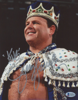 """Jerry """"The King"""" Lawler Signed WWE 8x10 Photo Inscribed """"King"""" (Beckett COA) at PristineAuction.com"""