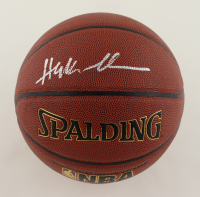 Hakeem Olajuwon Signed NBA Basketball (Schwartz COA) at PristineAuction.com