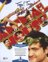 """John Landis Signed """"National Lampoon's Animal House"""" 8x10 Photo Inscribed """"Toga! Toga!"""" (Beckett COA) at PristineAuction.com"""