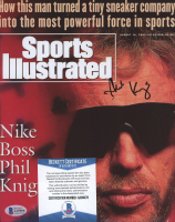 Phil Knight Signed Sports Illustrated 8x10 Photo (Beckett COA) at PristineAuction.com