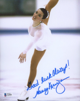 """Nancy Kerrigan Signed 8x10 Photo Inscribed """"Good Luck Always!"""" (Beckett COA) at PristineAuction.com"""