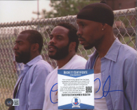 """Chad Coleman Signed """"The Wire"""" 8x10 Photo (Beckett COA) at PristineAuction.com"""